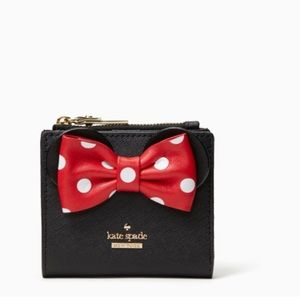 Kate Spade minnie mouse small wallet